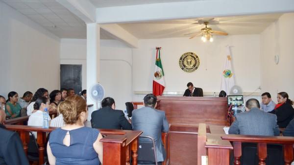Audiencia en el Distrito Judicial con cabecera en Cuencamé.