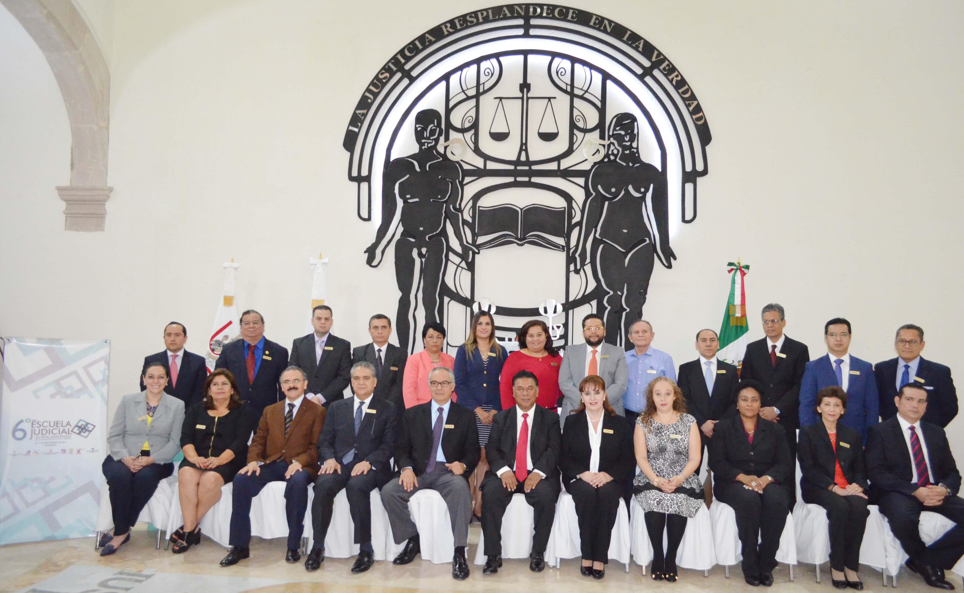 Inician trabajos del Sexto Foro Nacional de Escuelas Judiciales en Durango