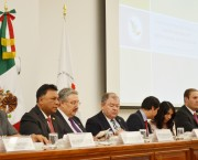 Con la presencia del Ministro Presidente del la SCJN, Luis María Aguilar, se creo el Consejo de Certificación para la Solución de Conflictos.