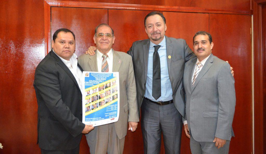 Dr. Esteban Calderón Rosas recibe la visita del Presidente de la CONCAAM
