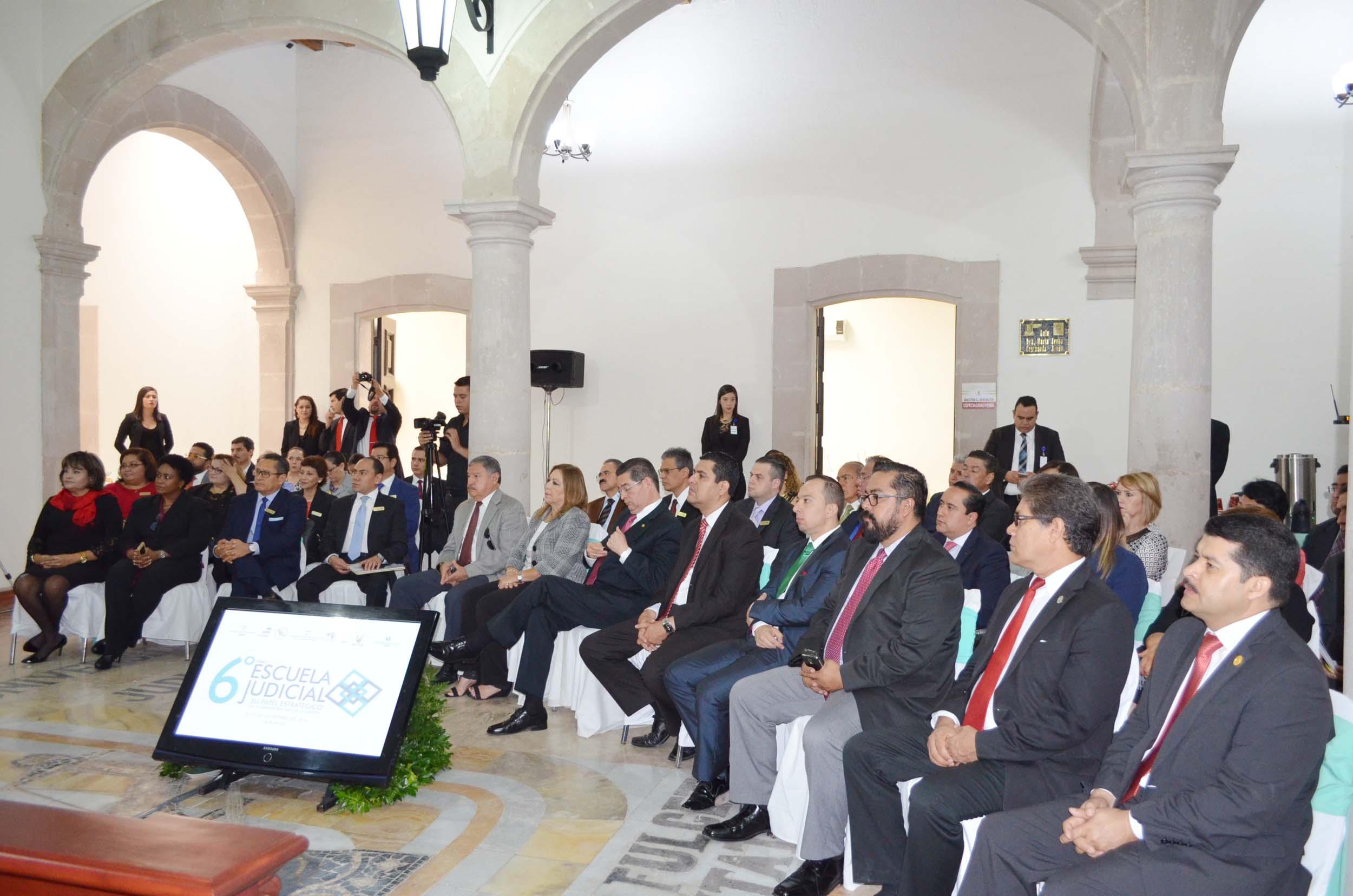Inauguración 6º Foro de Escuelas Judiciales
