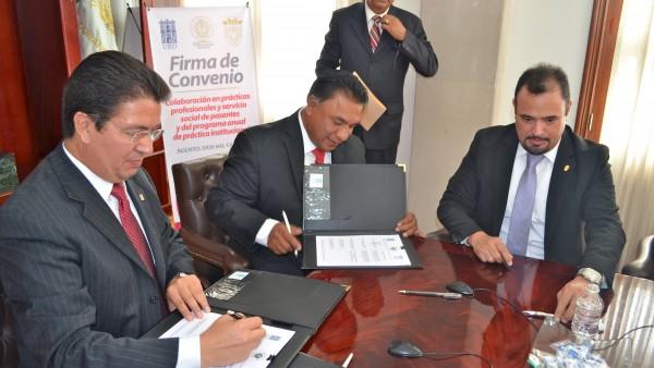 Firman convenio UJED y Poder Judicial para prácticas profesionales de estudiantes de derecho