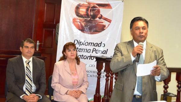 El Presidente del Poder Judicial, Apolonio Betancourt Ruíz, destacó la importancia que los periodistas conozcan el Nuevo Sistema de Justicia