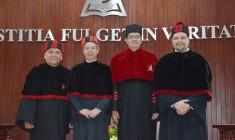 El Vicepresidente del Tribunal Superior de Justicia, Gerardo Gallegos Isais, logró el grado de Maestría en Derecho Judicial.