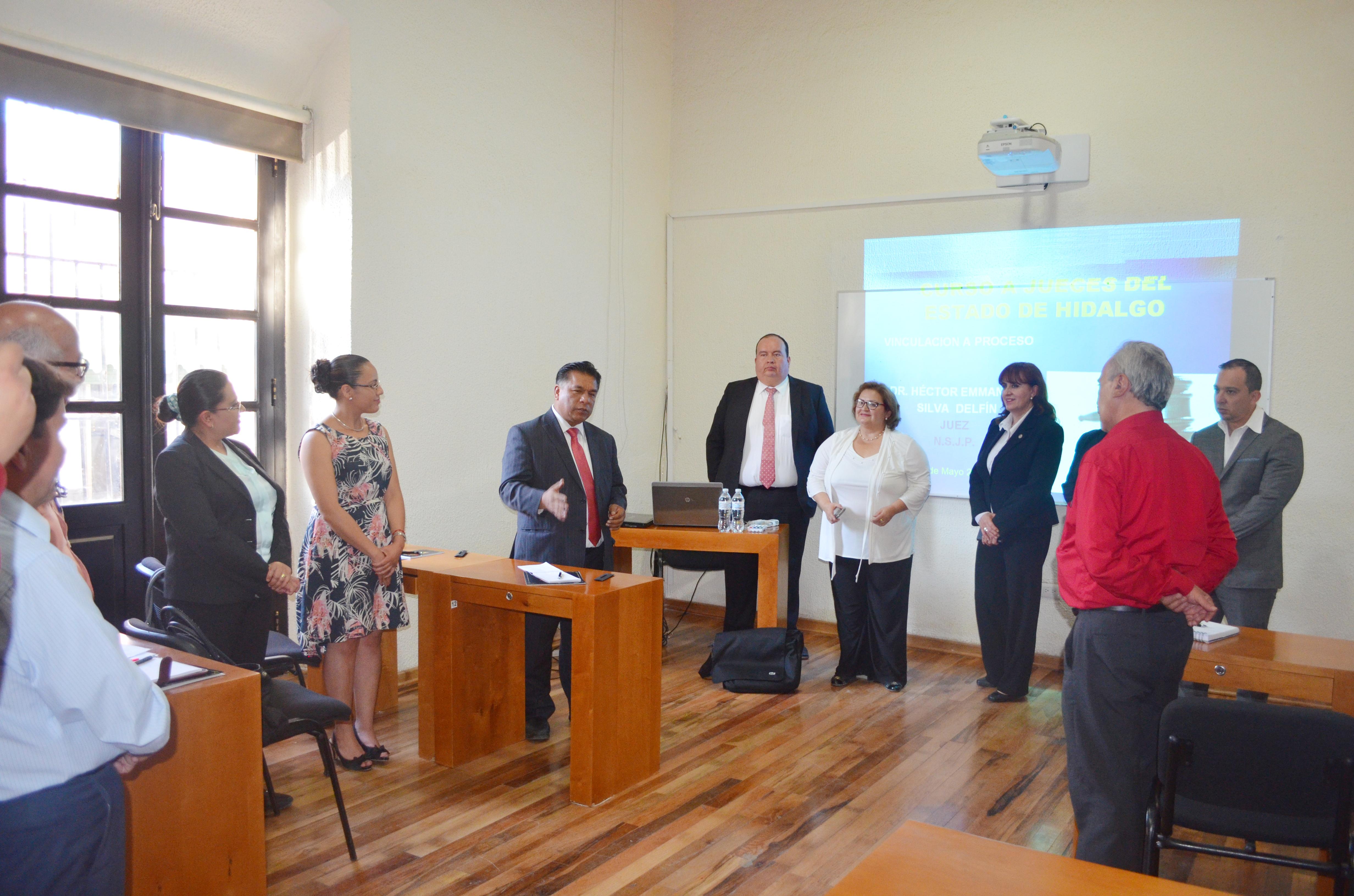 Jueces de Hidalgo se actualizan en Durango en Juicios Orales