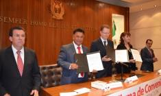 Firma el convenio de colaboración entre la Universidad Panamericana y la Universidad Judicial de Durango.