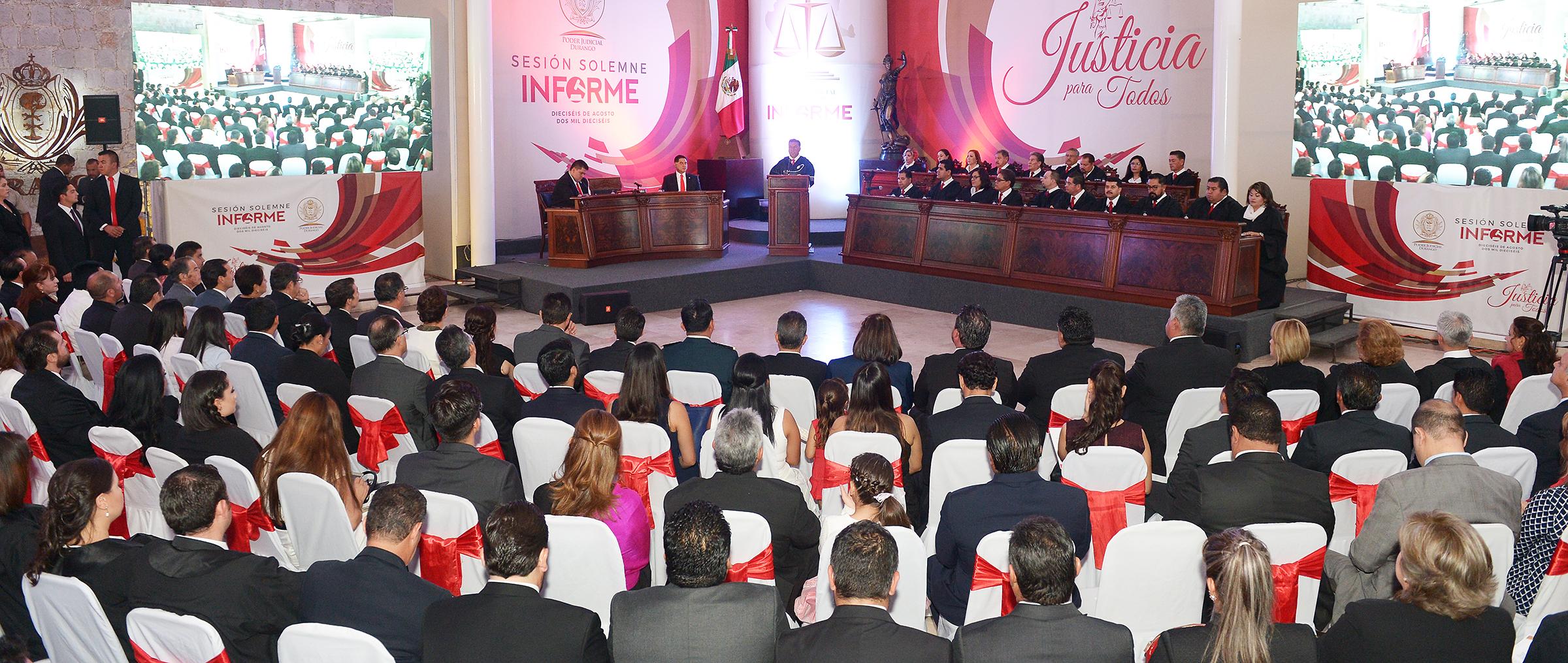 Durango mostró el camino hacia el Nuevo Sistema de Justicia Penal: JHC