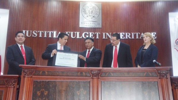 Se entregó la certificación correspondiente al Poder Judicial del Estado, libre de humo de tabaco.