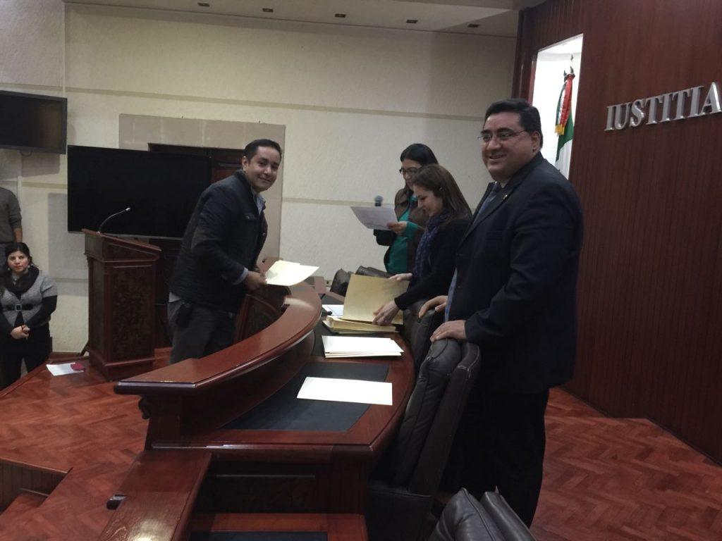 Entrega de estímulos a trabajadores del Poder Judicial